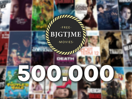 """Bjgtjme Movies"" YouTube channel continues growing and achieves 500k subs"