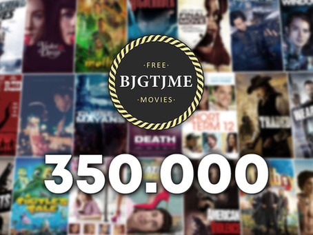 "AVOD Full Movie YouTube Channel ""Bjgtjme Movies"" exceeds 350k subs"