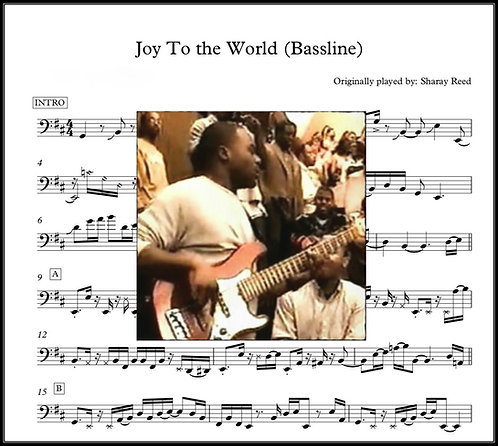 Joy to the World Charts - Gospel Musician Jam