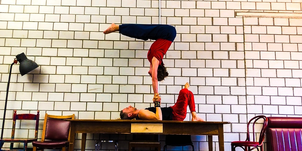 AcroYoga Advanced Workshop with Laura and Salva