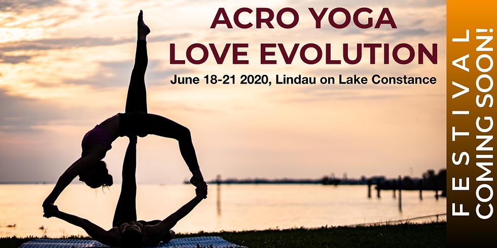 Acro Yoga Love Evolution