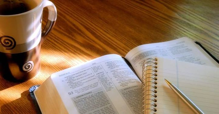 _When we get alone with the Bible, we ar