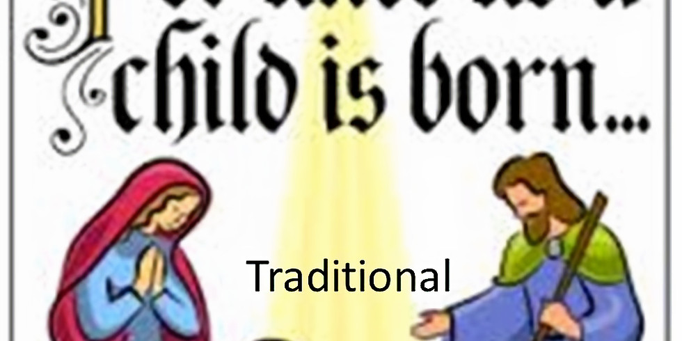 8:00pm Christmas Eve Service (Traditional)
