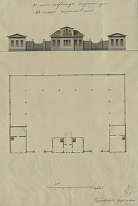 План и фасад трактира.jpg