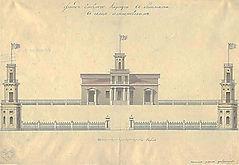 Добрынин Иван. Фасад главного корпуса