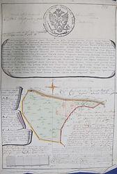 Геометрический специальный план московского уезда Гаретова стану сельцу Алексеевскому Апалиха тож
