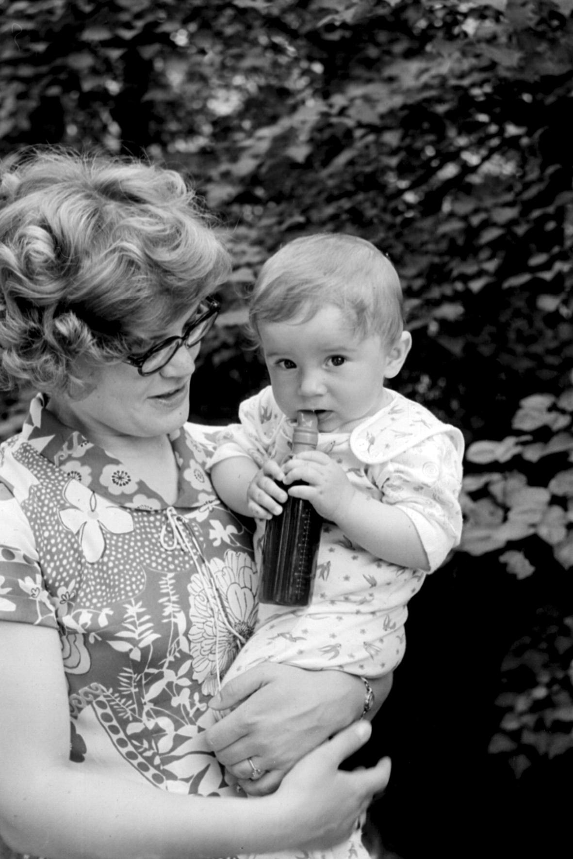 Елена Юрьевна Ермакова с сыном Юрой
