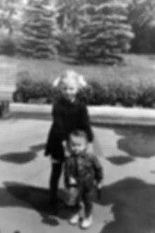 Наталья Карпова с племянником Колей