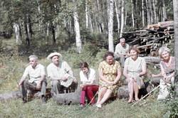 """Прогулка в лес"" 1968 год"