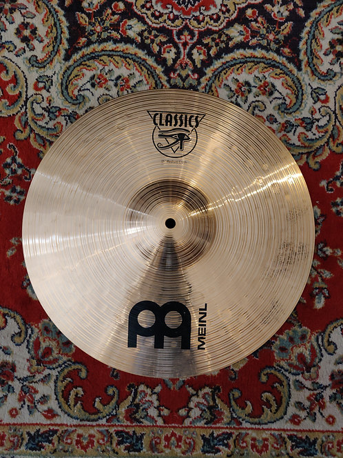Meinl Classics Medium Crash 15""