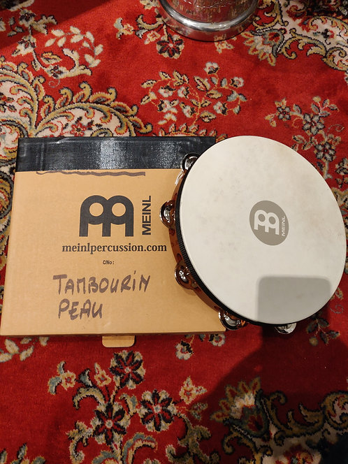 MEINL Tambourin Peau Nino 25 + Boite