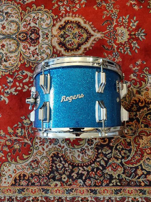 "Rogers Holiday Tom 12"" x 8"" Blue Sparkle Transition 1967 Dayton Ohio"