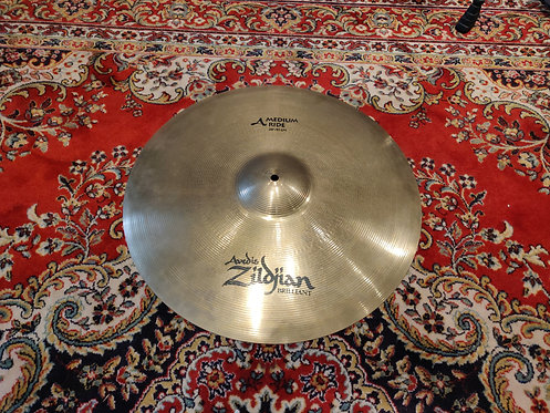 ZILDJIAN A Avedis Medium Ride Brilliant 20""