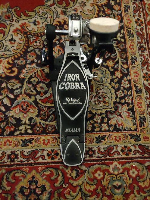TAMA Iron Cobra Power Glide Single Bass Drum Pedal +  Case + Tama Key