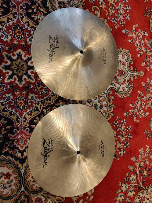 "ZILDJIAN New Beat Hi Hat 14"""