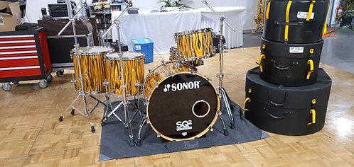Sonor SQ2 Maple -Tigerwood 26x20 14x10 14x6,5 (cc) 16x16TB 18x18TB