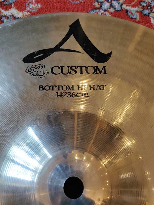 """Zildjian A Custom Hat 14"""" Bottom seulement"""