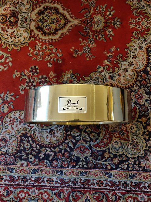 """Pearl Brass Shell 14""""X3,5"""" remplacement pour caisse free-floating"""