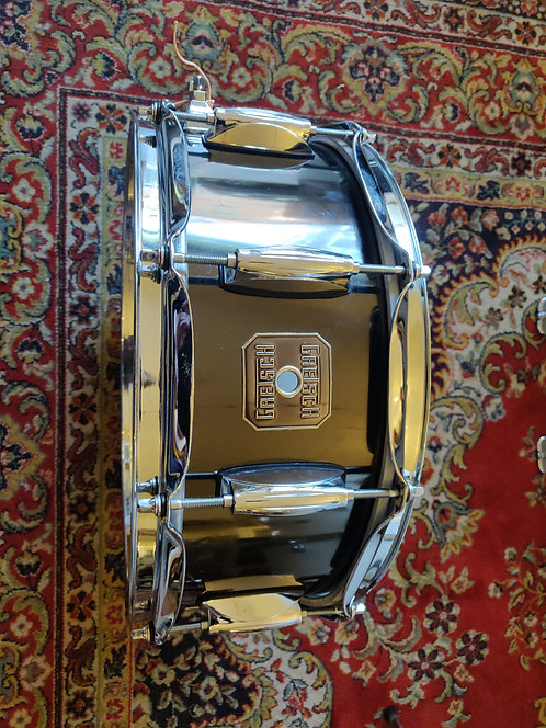Gretsch Crystal Tone Full Range Black Nickel (NOS) 14x5,5 Vintage 90's