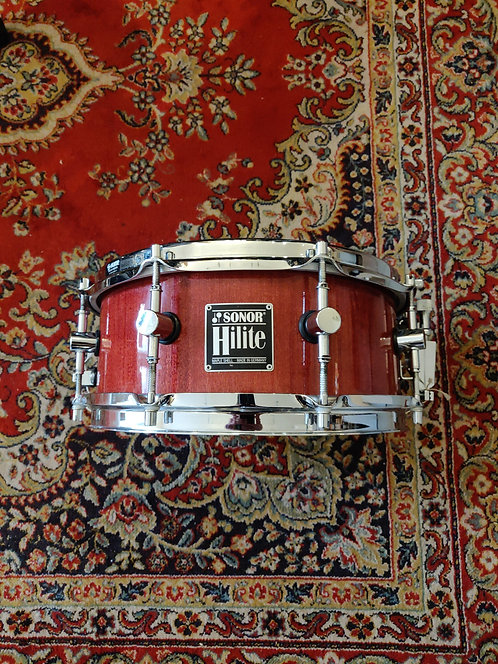 "Sonor Hilite Soprano Rosewood Finish 12""x5"" (maple)"
