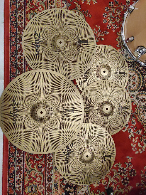 "Pack Zildjian Low Volume L80 13""HH  14"" 16"" 18"""