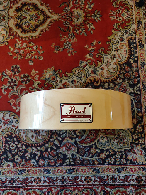 """Pearl All Maple Shell 14""""X3,5"""" remplacement pour caisse free-floating"""