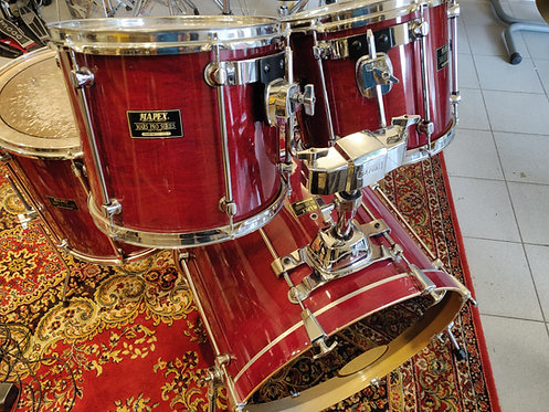 Mapex Mars Pro 1ere série 90's cherry red lacquer