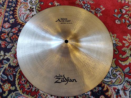 "Zildjian Avedis Rock Hat 14"" Bottom seulement"