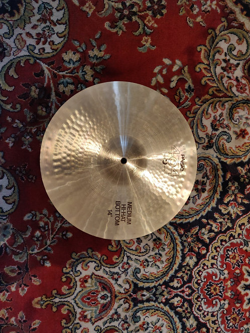 Paiste 404 bottom medium HH 14""