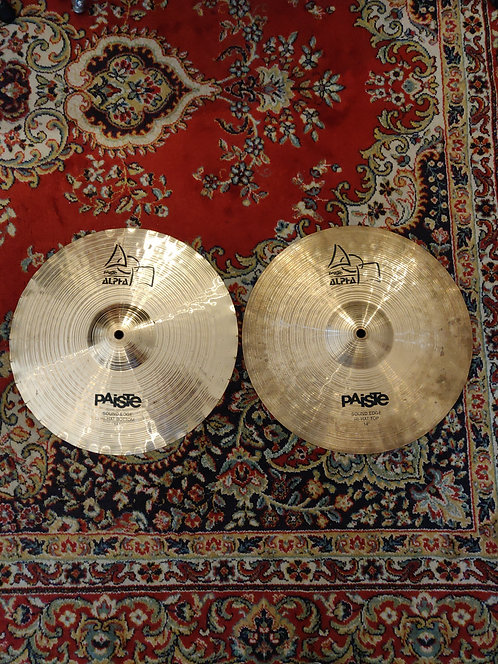 "Paiste Alpha Sound Edge Hi Hat 14"""