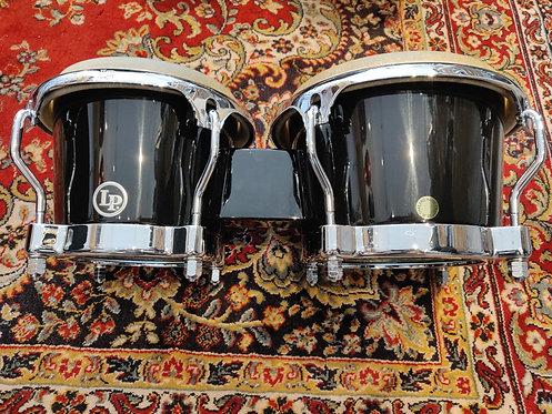 LP 200XF-BK Fibreglass Bongos  Comme neufs