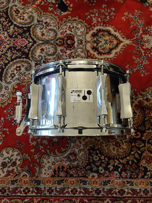 "Sonor D508X Phonic 14"" x 8"" Ferro-manganese Vintage 80's"