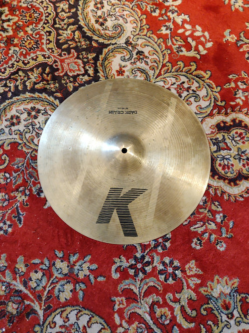 "Zildjian K Dark Crash 16"" Vintage 90's"