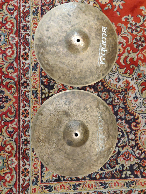 """Istanbul Mehmet/Agop Turk Hi Hat 13"""" 90's"""