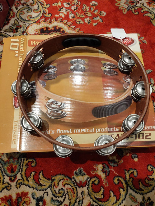 STAGG Tambourin TAW102 + Boite COMME NEUF
