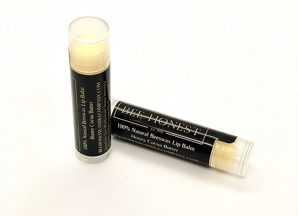 100% Natural Honey Cocoa Butter Beeswax Lip Balm
