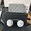 Thumbnail: Chanel   Grey Caviar Leather Zippy Wallet