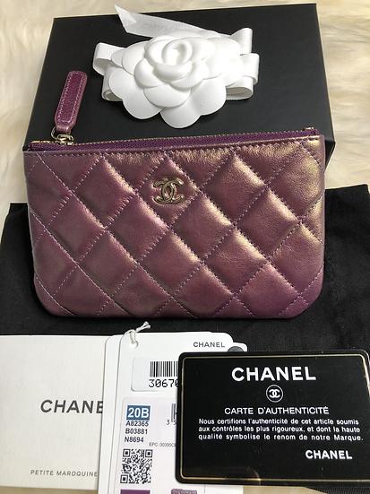 Chanel | Purple Iridescent Mini O Case