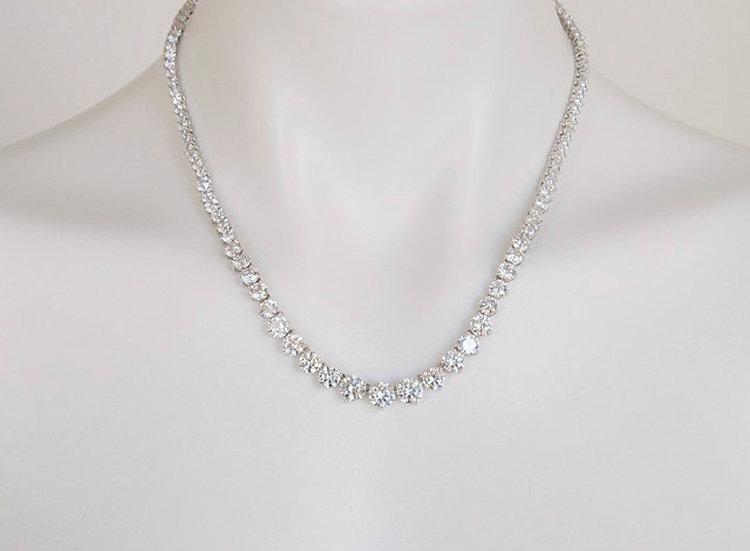 """18""""  Cubic Zirconia Necklace"""