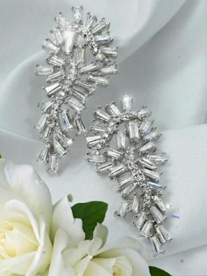 Baguette Seahorse Earrings