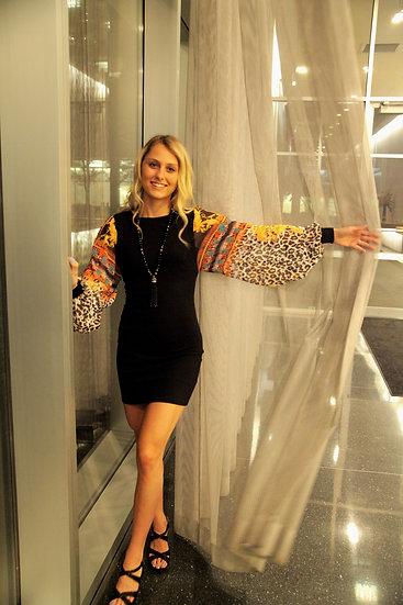one piece silk dress