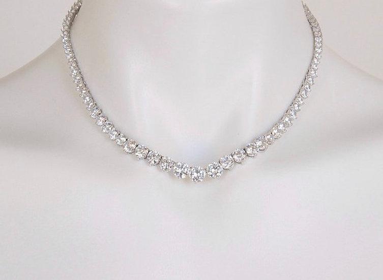 """16"""" Cubic Zirconia Necklace"""