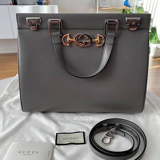 Gucci | Zumi Smooth Leather Medium Bag