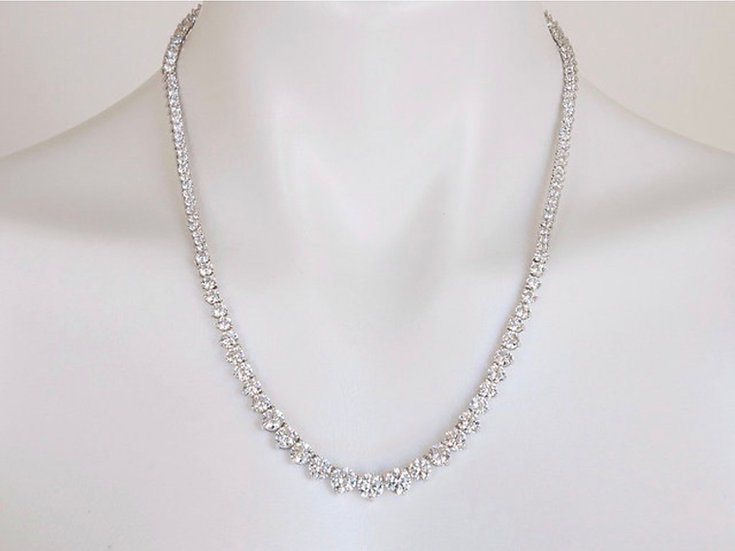 "20"" Cubic Zirconia Necklace"