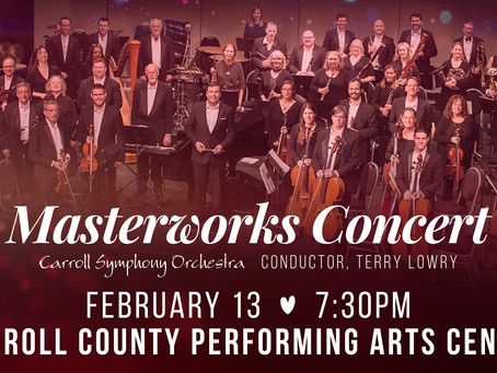 CSO Masterworks Concert           February 13         *VENUE CHANGE*