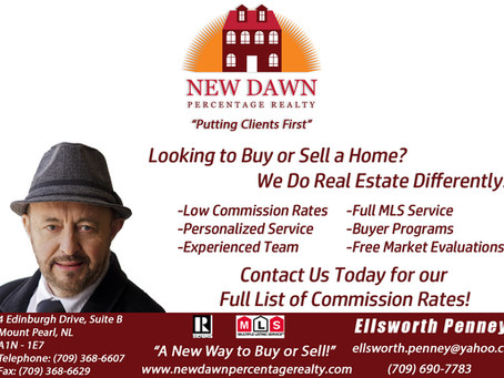 Welcome to New Dawn Percentage Realty!