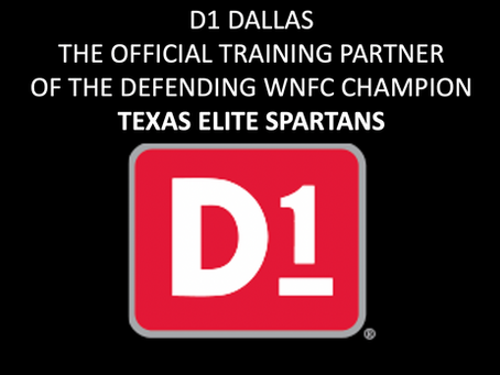 D1 Dallas Named Official Training Partner of the Undefeated Texas Elite Spartans