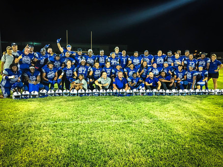Texas Elite Spartans WIN Best of the West Women's Football Championship