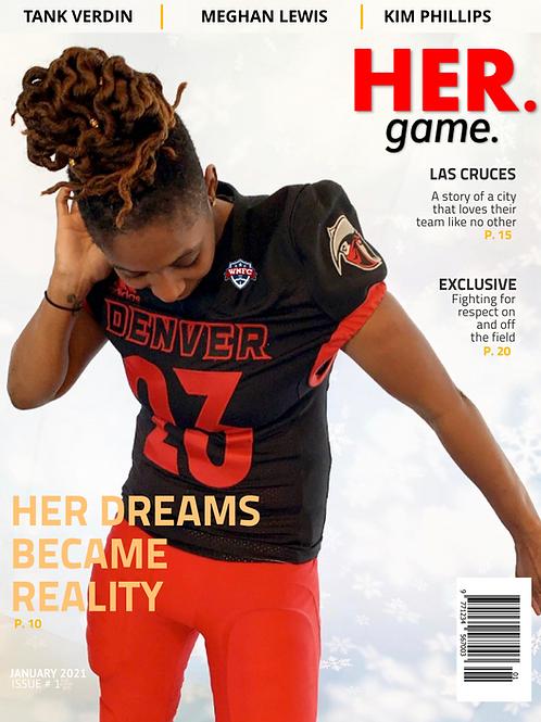 HERgame Magazine Premier Issue (Jan 2021)