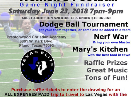 "Texas Elite Spartans Host Game Night Fundraiser to Support Trip to ""Best of the West"" Wome"